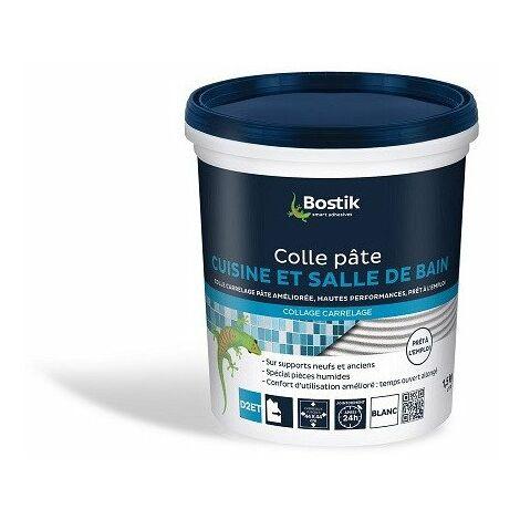 Colle à Carrelage Cuisine ou Salle de bains Pate 1,5k - BOSTIK