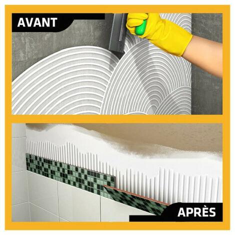 Colle à carrelage en pâte pour carreaux et plaquette de parement (D1-ET) - SIKA SikaCeram Basic - Ivoire - 15kg