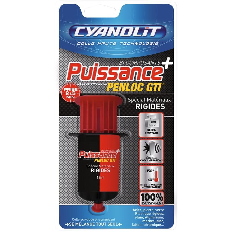Colle acrylique super puissante - 12 mL - Cyanolit
