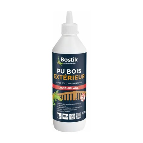 """main image of """"COLLE BOSTIK BOIS EXT. PU 500G"""""""