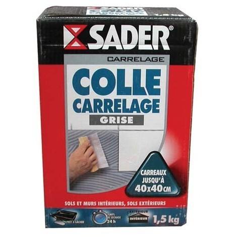 Colle carrelage Sader 1,5kg