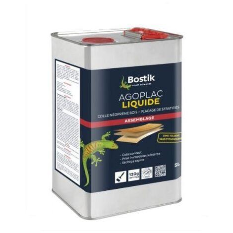 Colle contact AGOPLAC liquide bidon de 5 litres