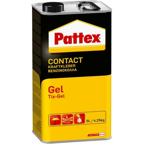 Colle contact gel PATTEX - bidon 4.25 kg - 1419285
