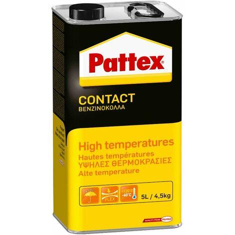 Colle contact haute température PATTEX - bidon 4.5 kg - 1419294