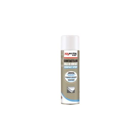 Colle de contact 128 compact spray - Contenance : 500 mL - RECTAVIT