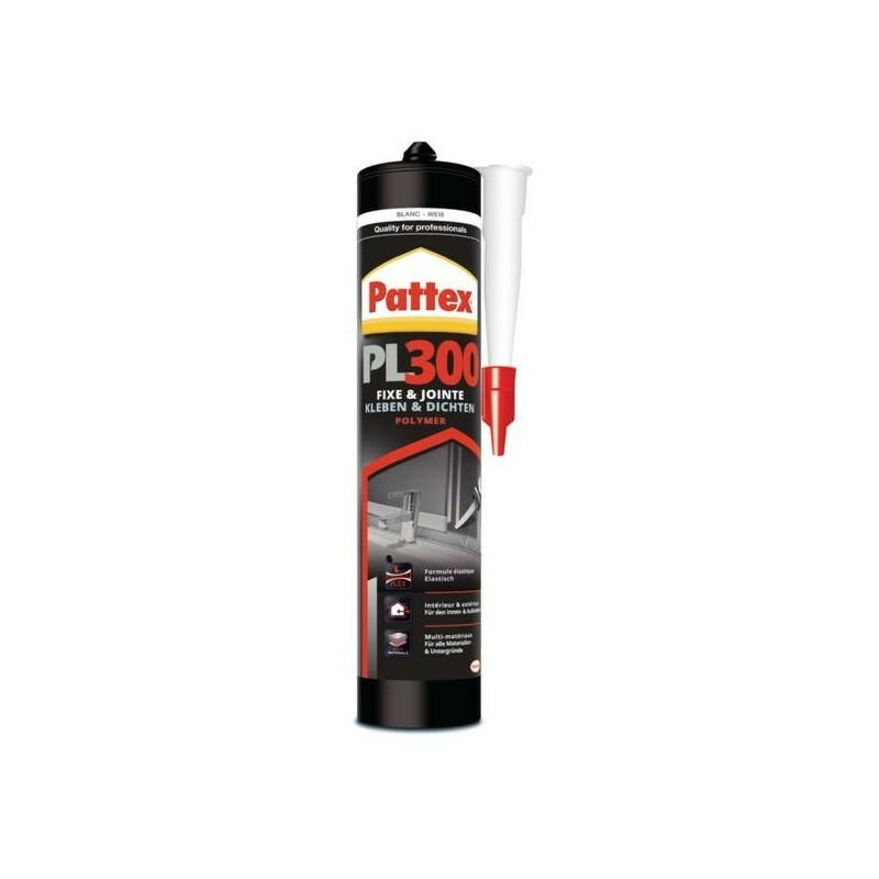 Colle de fixation à base de polymère hybride PL300 de PATTEX