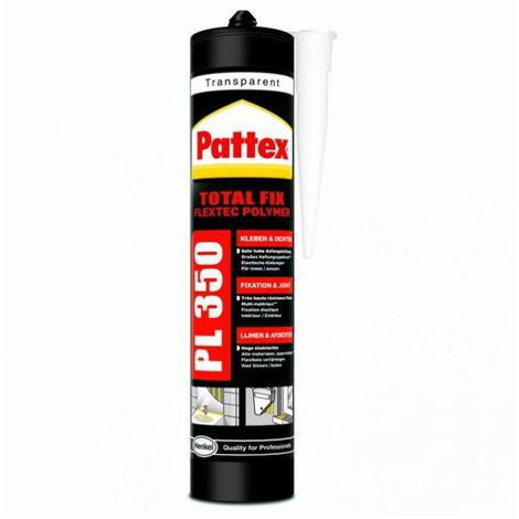 Colle de fixation transparente à base de polymère hybride PL350 de Pattex