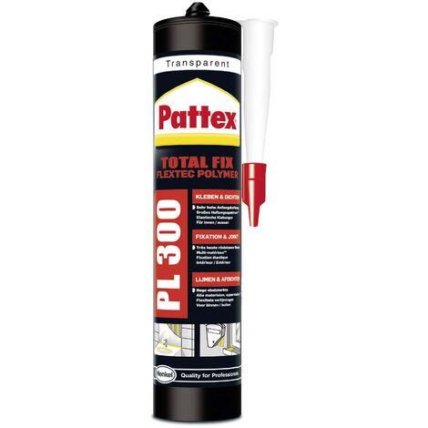 Colle de montage Pattex Flextec Polymer PPL3T Couleur transparent 300 ml S85469