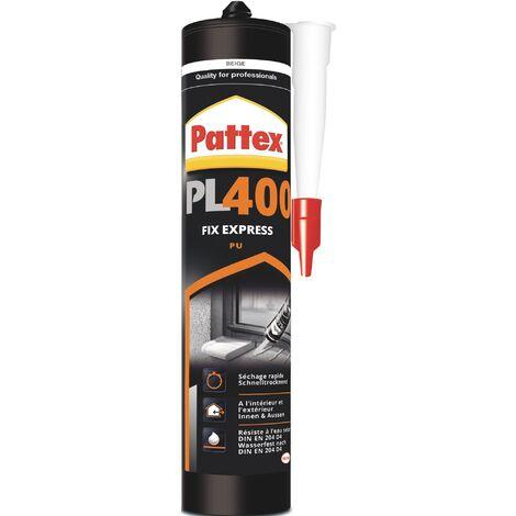 Colle de montage PU Express PL 400 beige EN 204: D4 495 g Kartusche