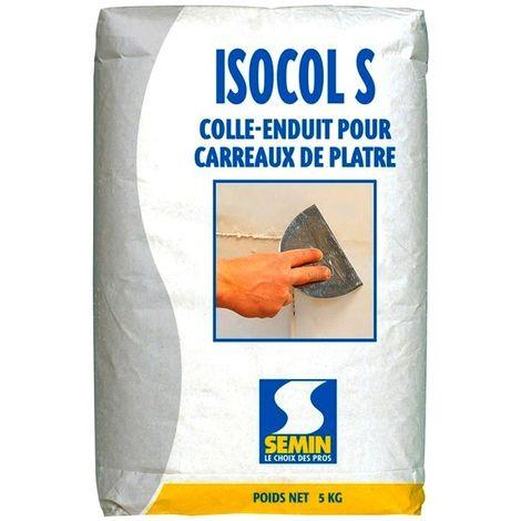 Colle enduit ISOCOL SUPER SEMIN polyvalente 5 kg