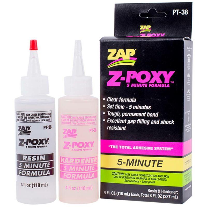 Colle Epoxy Z-POXY 5 MINUTES 360 042 Z-POXY 5mn 237 ml - contenance : 360 042 Z-POXY 5mn 237 ml