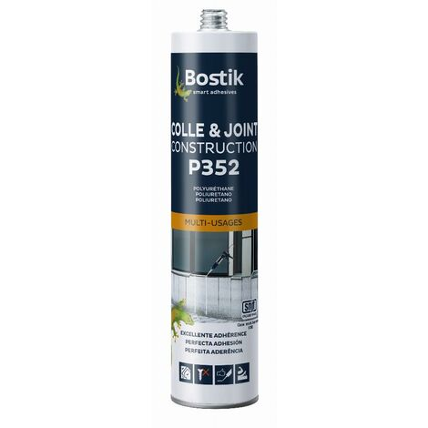 Colle et joint Multi-usage P352 BOSTIK Brun - 30615845