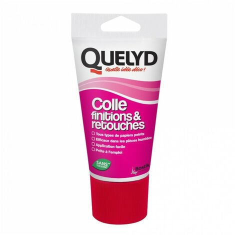 Colle finitions & retouches 100g QUELYD