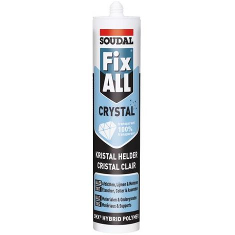 Colle Fix all 100 % Transparent - Soudal