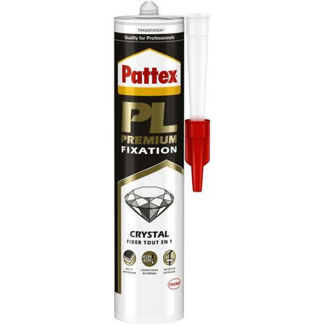 Colle mastic polymere transparent tout en un, les 300g