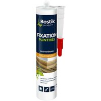 Colle fixation plinthes 290ml Blanc