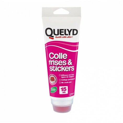 Colle frises & stickers 250g QUELYD