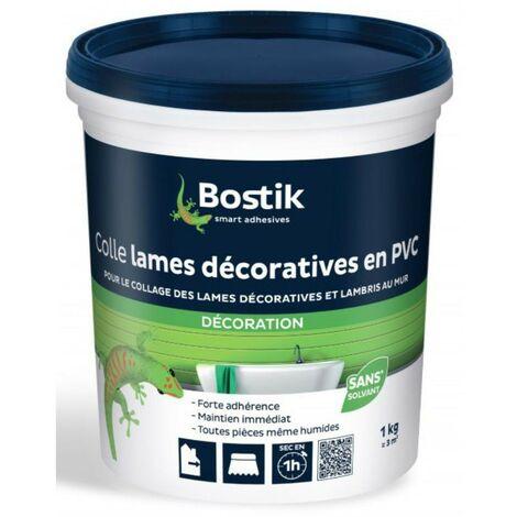 Colle lames décoratives en PVC