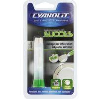 COLLE liquide Cyanolit Instantanée SUCCES Porcelaine tube 2g - 2144108