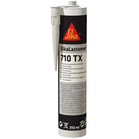 Colle mastic butyle - SIKALastomer 710TX- Noir - 310 ml - Noir