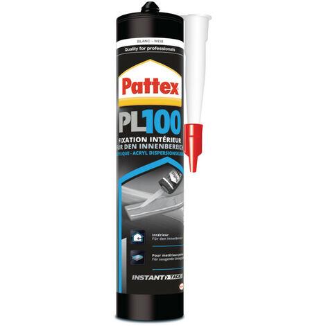 Colle mastic de fixation acrylique PL100 de Pattex - plusieurs modèles disponibles