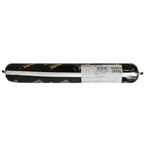 Colle mastic hybride SIKA Sikaflex 521 UV - Noir - 600ml