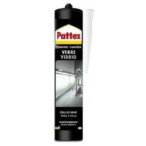 Colle mastic MS verre/miroir cartouge de 300g PATTEX