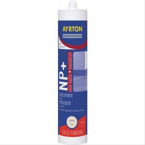 Colle mastic NP+ Ayrton - carton de 24 cartouches de 310ml