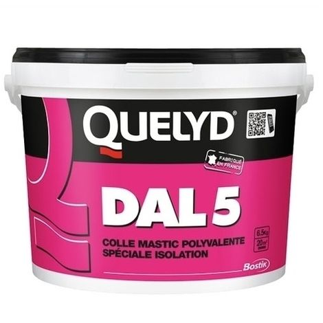 Colle mastic polyvalente spéciale isolation DAL 5 1kg