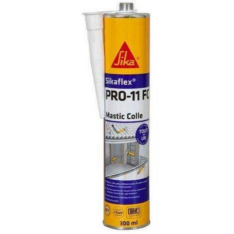 Colle mastic Sikaflex PRO 11 FC à prise rapide 300 ml SIKA - plusieurs modèles disponibles