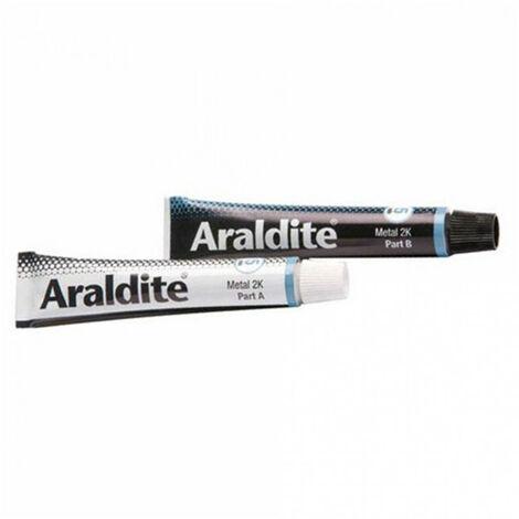 Colle 'métal' 2x15ml en tube ARALDITE - plusieurs modèles disponibles