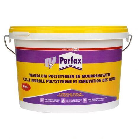 Colle Murale polystyrene et renovation des Murs Perfax - 4,5kg
