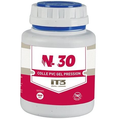 Colle N30 PVC pression - 250 ml - Catégorie Étanchéité