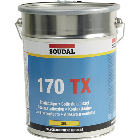 Colle néoprène 170TX (cire) Soudal