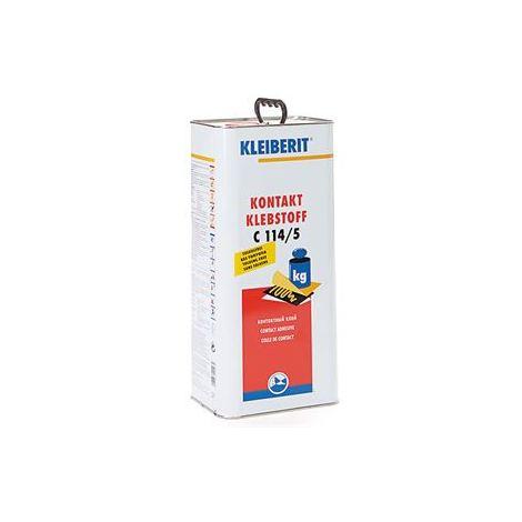 Colle néoprène liquide spatulable KLEIBERIT 114.5 - bidon de 4,5kg (=5,17L) - 114.5.0500