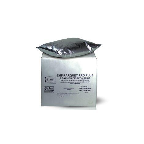 Colle parquet Emfiparquet Pro Plus EMFI -18kg (3 sachets 6kg) - 75037UE033