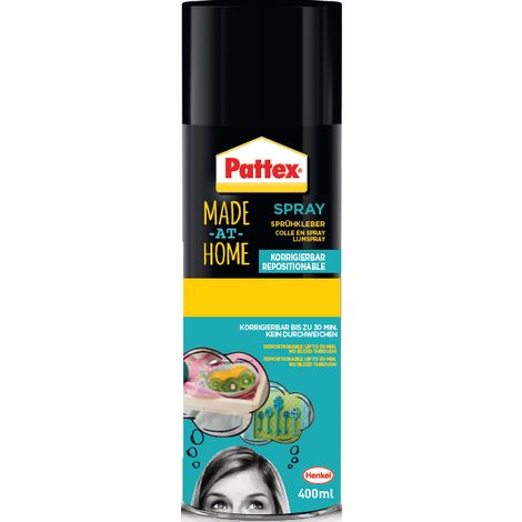 Colle Pattex en spray repositionnable 400ml