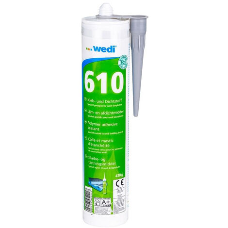 Colle polymere WEDI 610 monocomposant - cartouche 310ml