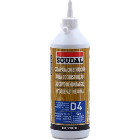 Colle polyuréthane D4 Soudal