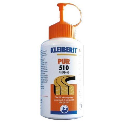 Colle polyuréthane PUR 510 Fiberbond biberon de 800 g