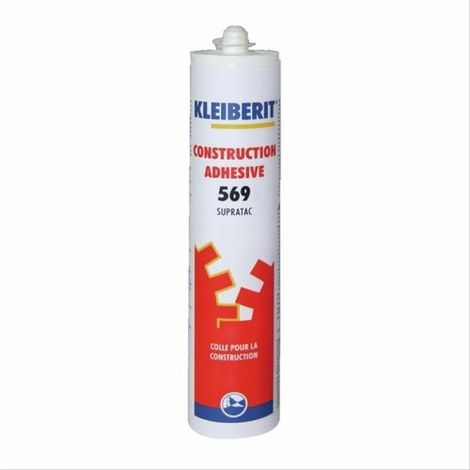 Colle polyuréthane Supratac 569 Kleiberit - boîte de 12 cartouches de 310ml