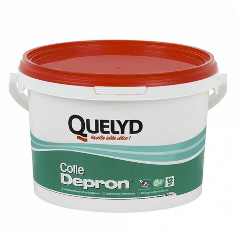 Colle pour isolant Dépron Quelyd