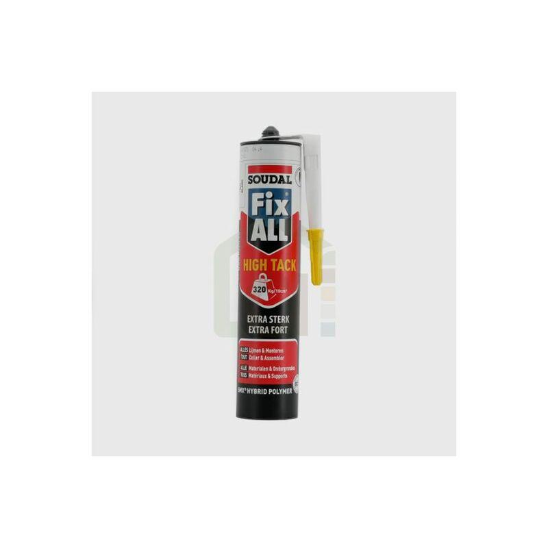 Fix All High Tack SOUDAL en cartouche de 290ml Cartouche de 290 ml | Cartouche(s) de 0 - Cartouche de 290 ml