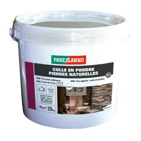"""main image of """"Colle pour plaquettes en pierres naturelles PAREXLANKO - Blanc 7,5 kg - 03276 - Blanc"""""""