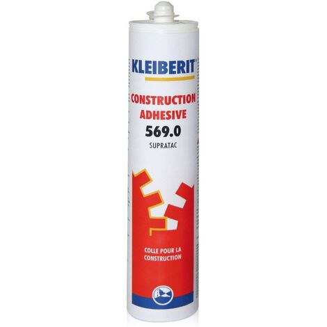 Colle PU en gel KLEIBERIT 569.0 - cartouche 0,325kg - 569.0.8806
