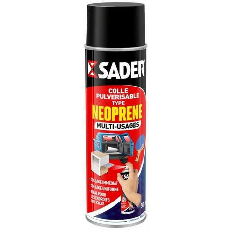 Colle pulvérisable néoprène multi-usages 200 ml SADER