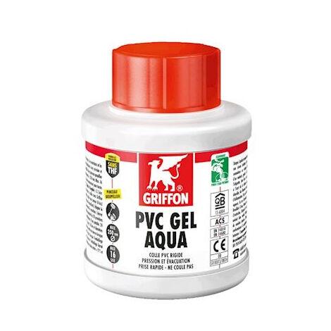 Colle PVC Gel Aqua spéciale eau potable GRIFFON pot 250 ml - 6140214