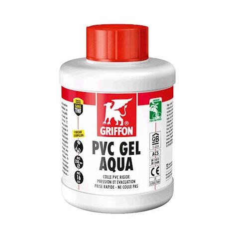 Colle PVC Gel Aqua spéciale eau potable GRIFFON pot 500 ml - 6140215