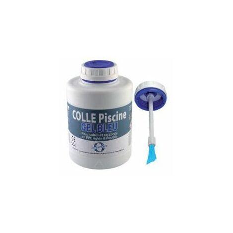 Colle pvc gel bleu interfix pour pvc souple - 250 ml
