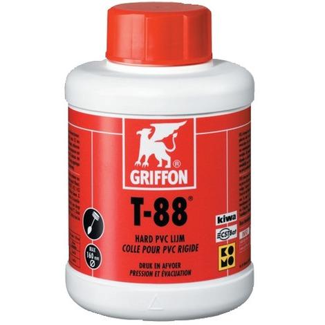 Colle PVC liquide T-88 - en pot 6 A pinceau